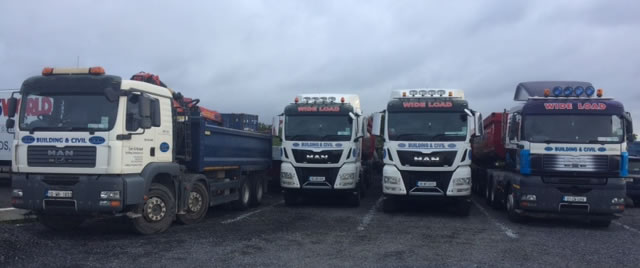 corr and nyland building contractors fleet